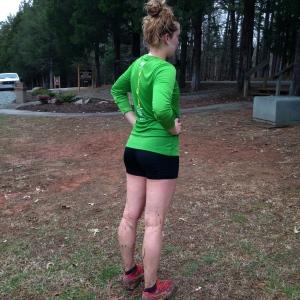 Pic of Muddy Legs