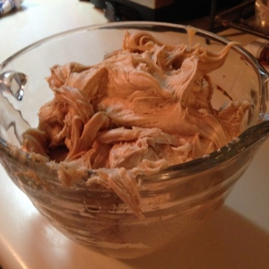 picture of peanut butter frosting