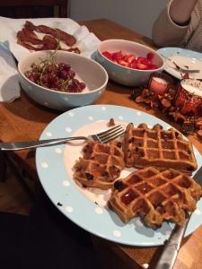 Gluten & Egg free post race breakfast