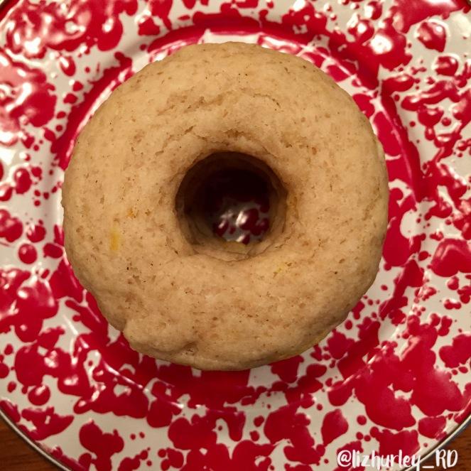 Vegan Gluten Free Lemon Donut